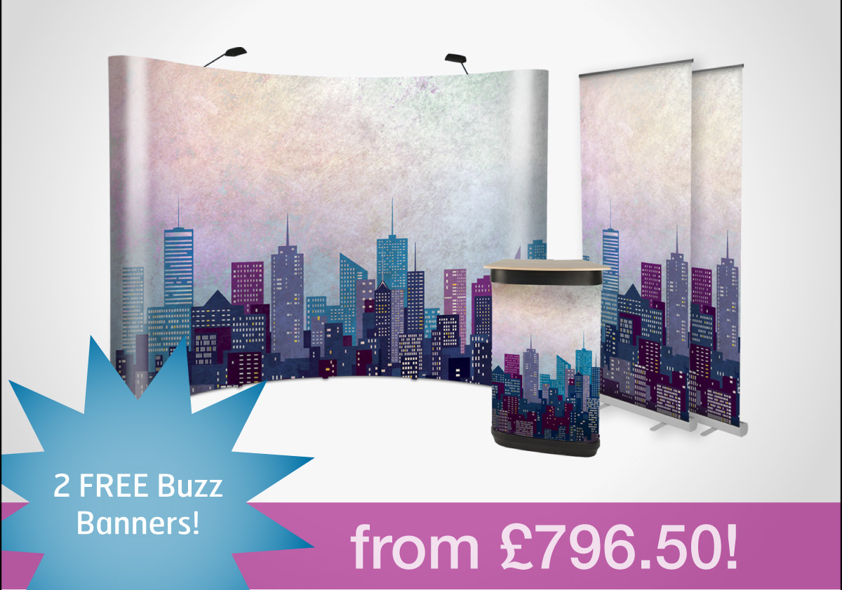 2 FREE buzz banners
