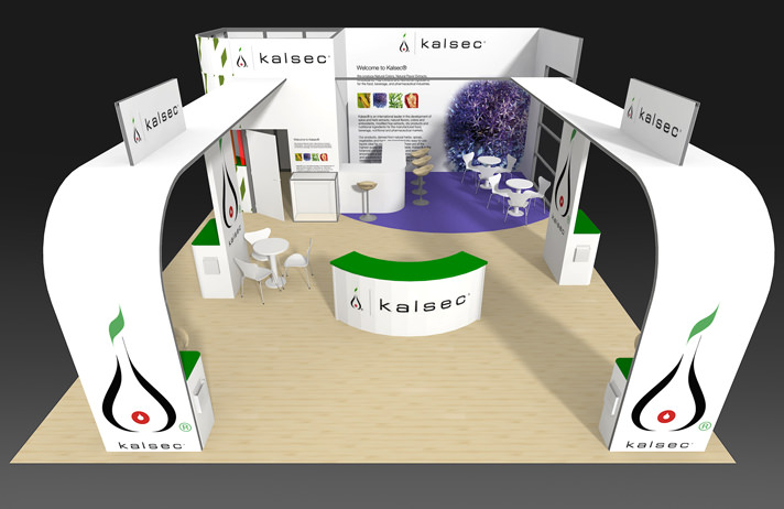Exhibition Stand for Kalsec Europe