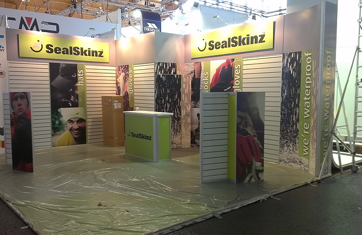 Exhibition Stand for Sealskinz