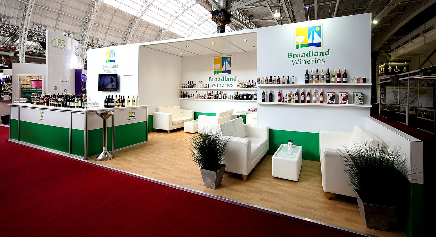 What Does Expo Stands For : Ggs do it again exhibition stand for broadland wineries