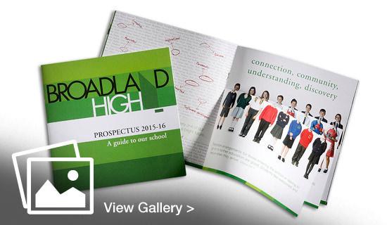 Broadland High School prospectus