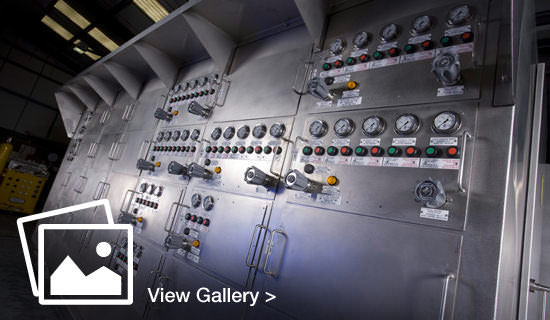 Industrial photography - control panel