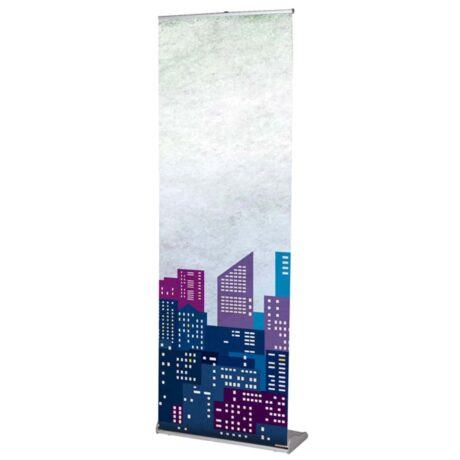 Lightweight robust banner with carry bag