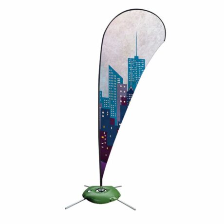 Zoom quill for outdoor displays