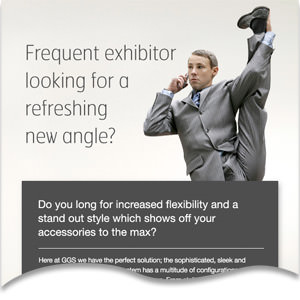 Frequent exhibitor looking for a refreshing new angle?