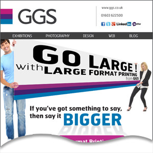Got something to say? Say it bigger with large format printing