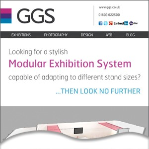 Stylish modular exhibition systems