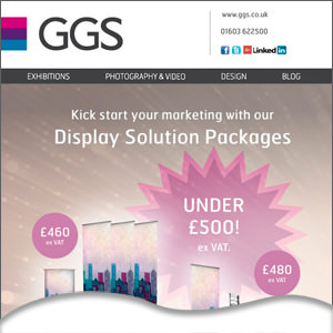 Kick start your marketing with out display packages