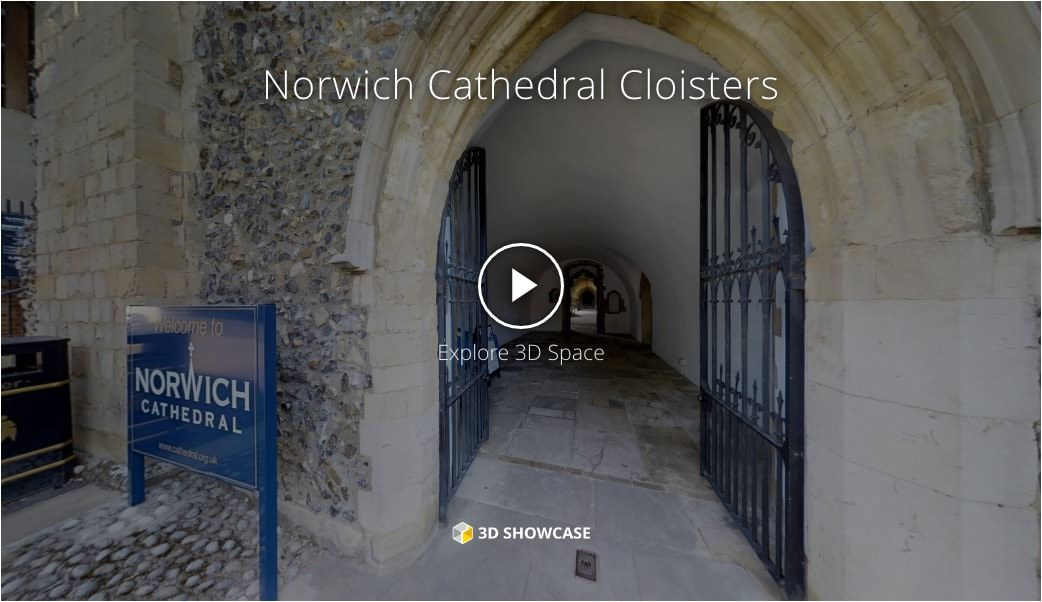 Virtual tour of Norwich Cathedral Cloisters