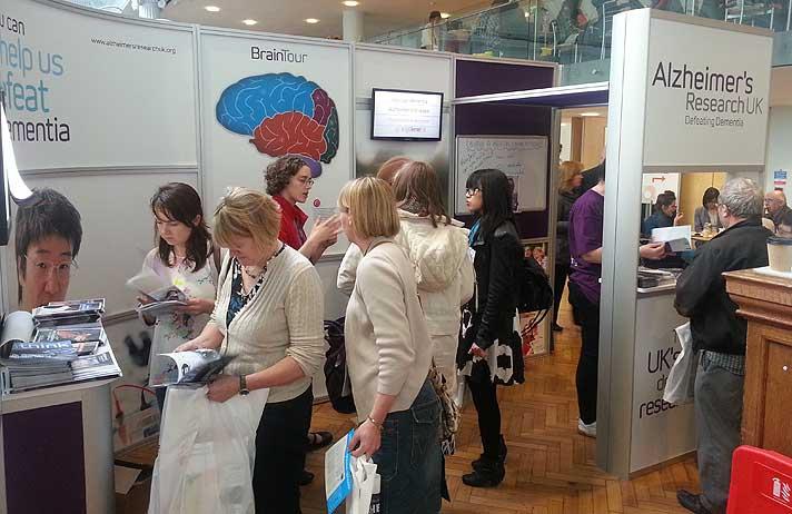 Alzheimers Exhibition Stand