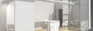 3D stand design model