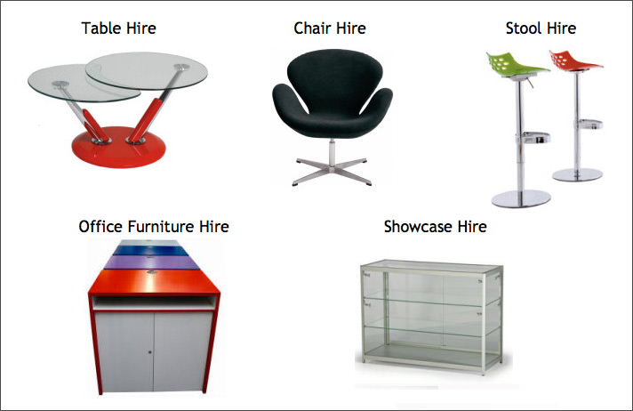 Exhibition Stand Furniture Hire : Exhibition furniture hire