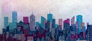 GGS branded cityscape