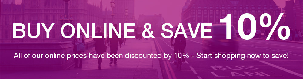 Buy online from GGS and save 10%