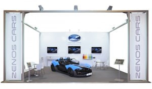 Stand hire for Zenos cars