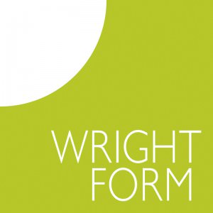 Branding example for Wrightform, logo, stationery and brochure design