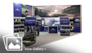 Sealskinz exhibition stand designed and built by GGS