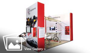 Exhibition stand for bf1 systems in Norwich, Norfolk