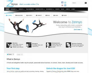 Design of Zennyo website
