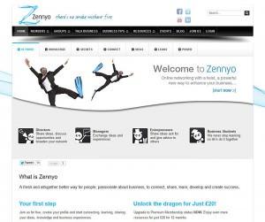 Design of Zennyo website