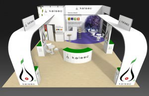 Kalsec stand drawing to pitch to client