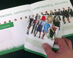 Flicking through pages of Broadland Prospectus