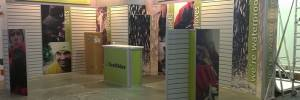 Old branded stand for SealSkinz before show