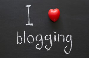 I love blogging