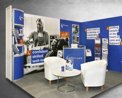 Shell Scheme Exhibition Stands : Shell scheme stand solutions norwich norfolk ggs