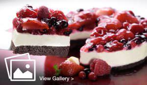 Summer berries dessert