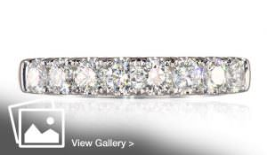 Sparkly diamond ring
