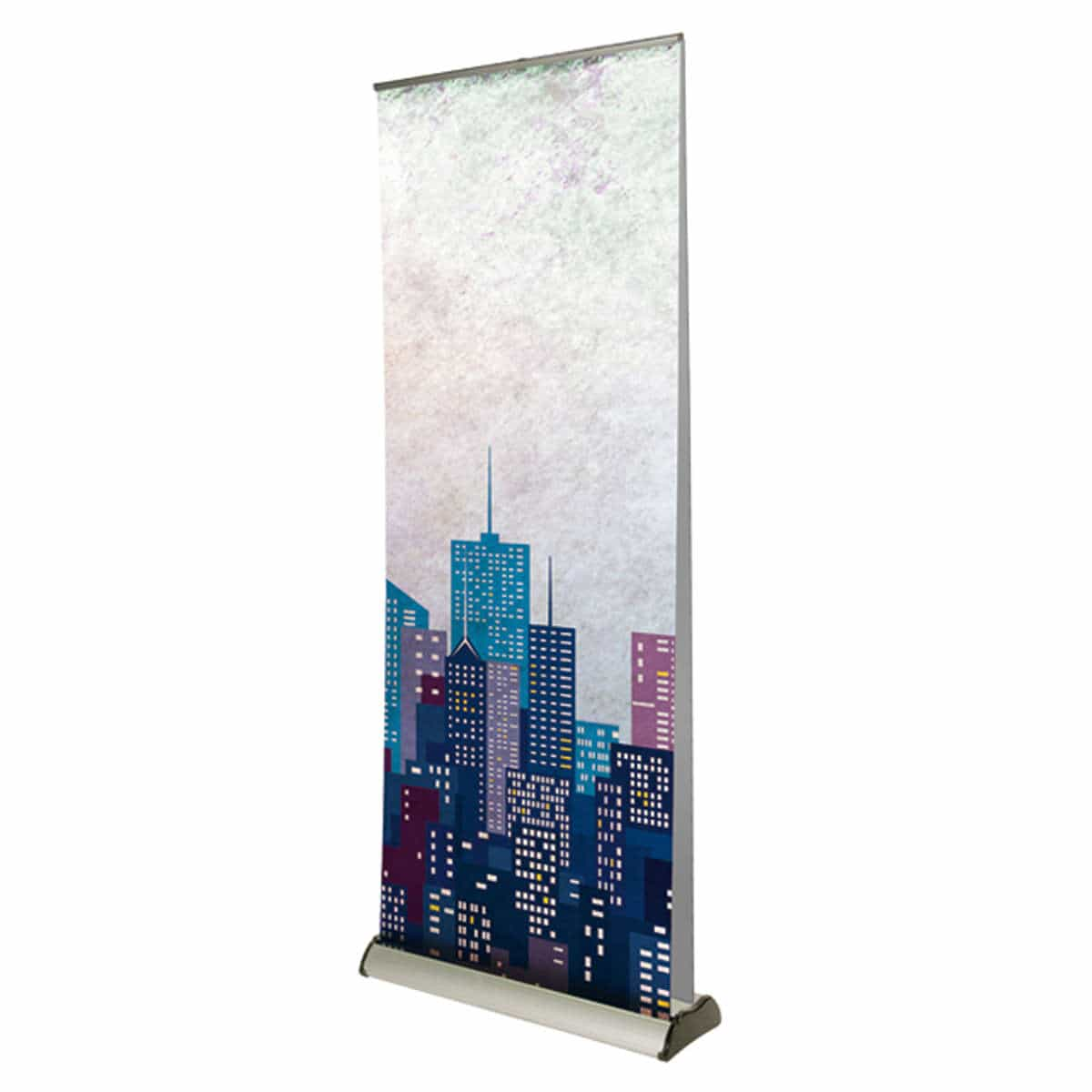 Double sided premium banner stand