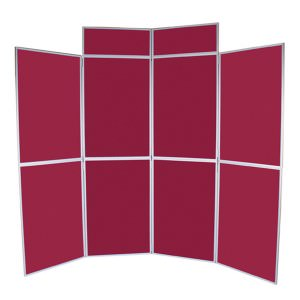 Eight panel folding kit in red