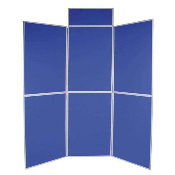 Six panel folding kit in blue