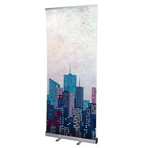 Lightweight economy roller banner