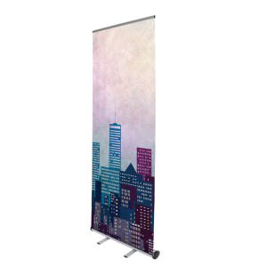 A modern Prism roller banner