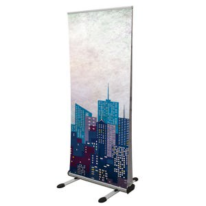 Thunder banner stand 800mm wide