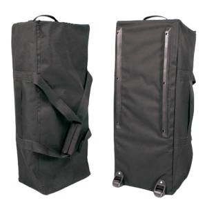 Hop up carry bag with handles and wheels