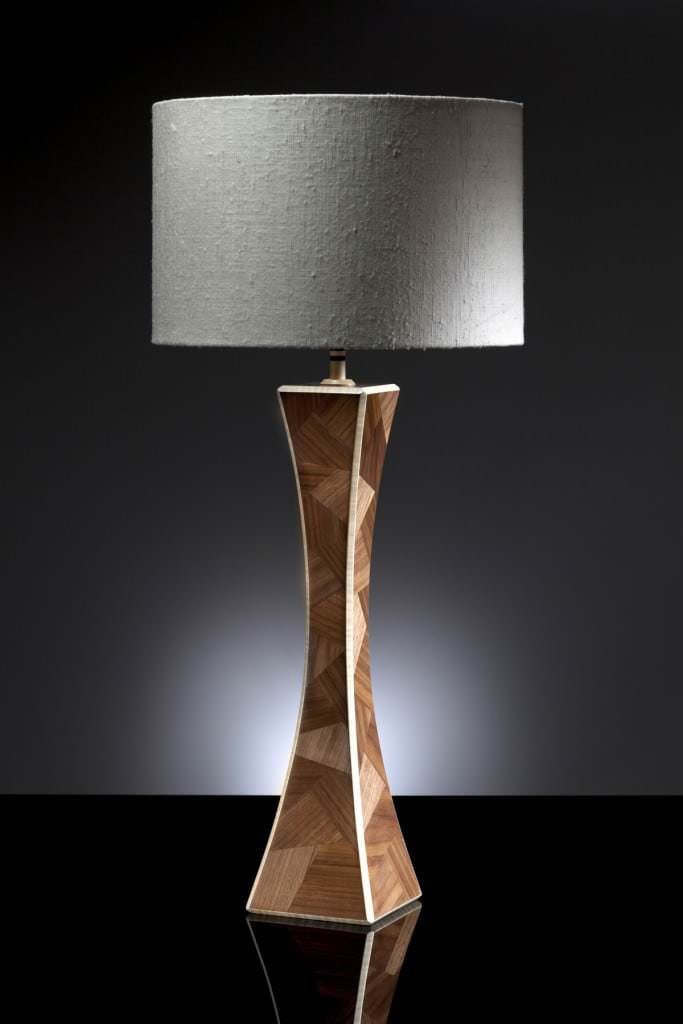 Professionally photographed lamp