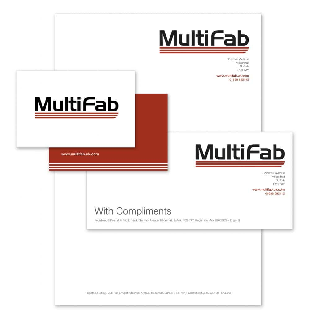 Stationery design for MultiFab