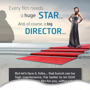 Big stars and directors don't make a film, GGS do.