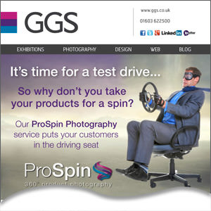 Take your products for a spin with our 360 degree photography