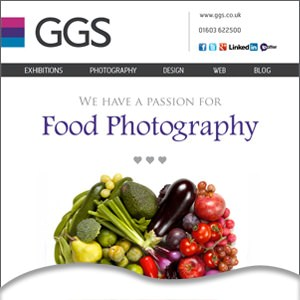 We're passionate about photographing food