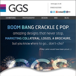 Bonfire night poem about marketing collateral