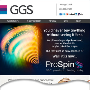 Show off your products online with our ProSpin Photography