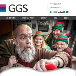 Father Christmas flees GGS to begin work