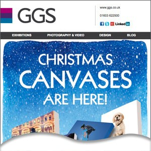 Christmas Canvas Offer!