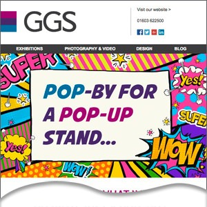 Pop-ups by GGS in Norwich, Norfolk