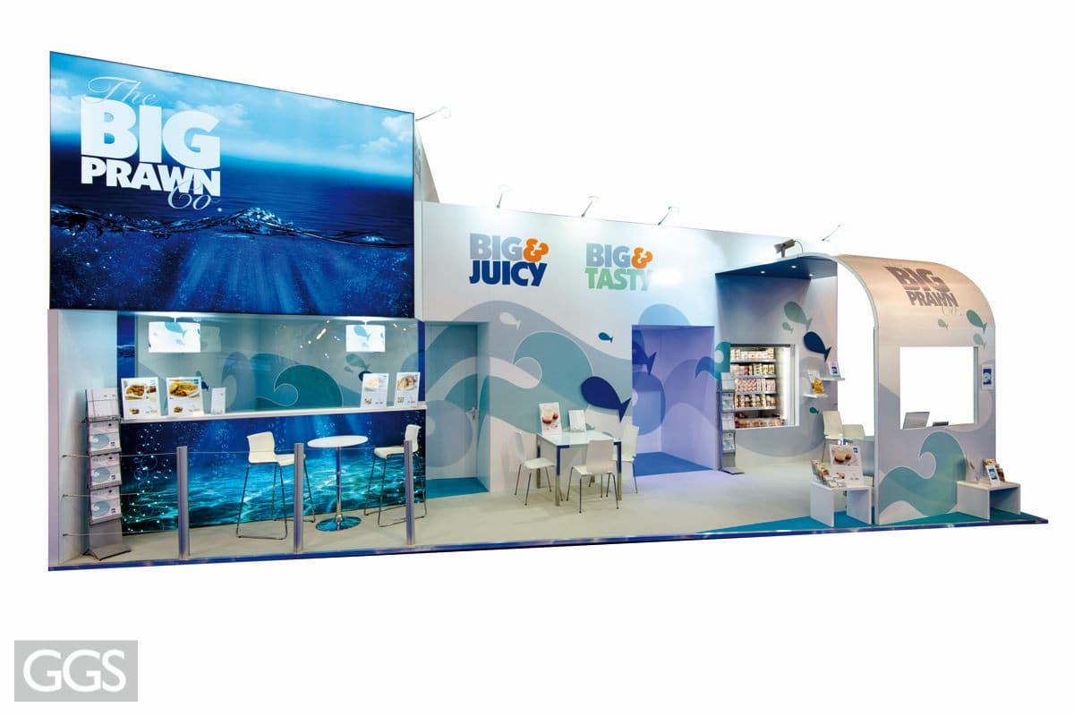 SEAFOOD EXPO GLOBAL GGS stand design