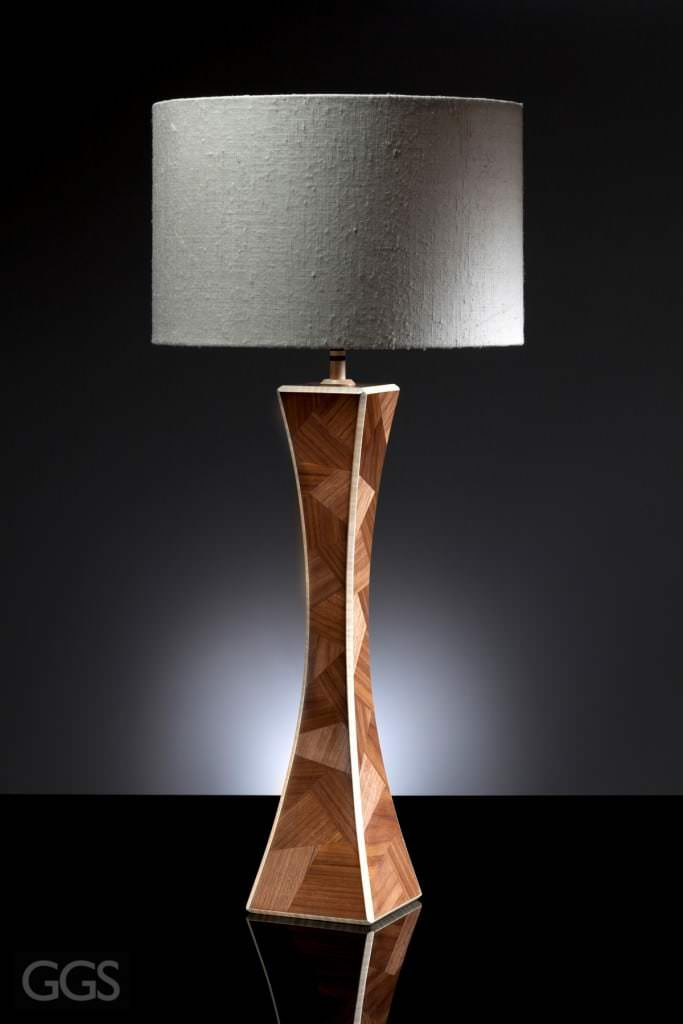 GGS Furniture photography featuring fashionable lamp